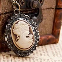 Годинник кулон Камея, фото 2