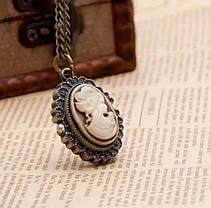 Годинник кулон Камея, фото 3