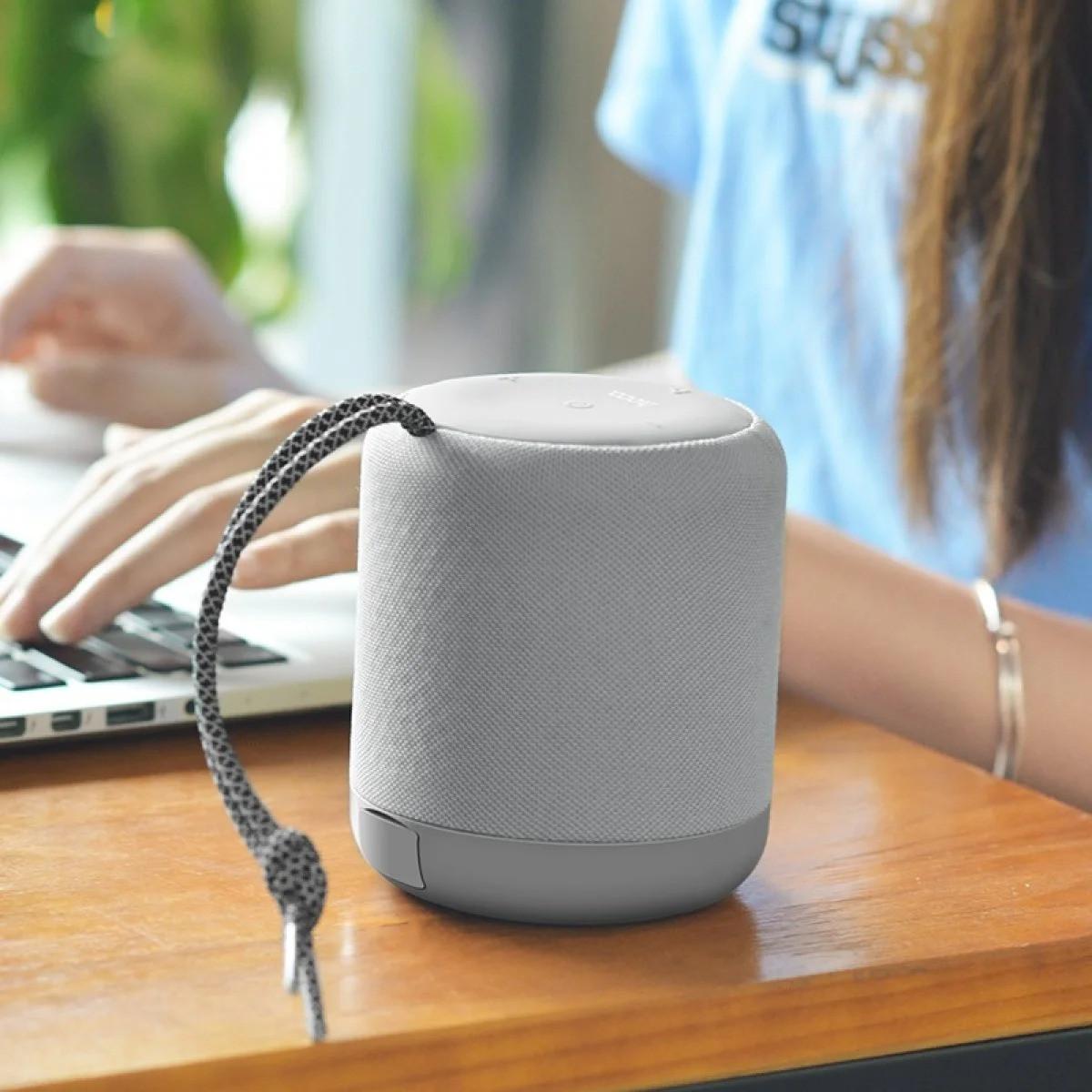 Портативная Bluetooth колонка HOCO BS30 Серая