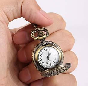 Годинники жіночі кулон, фото 2