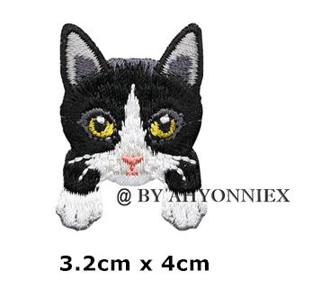 На одежду нашивка апликация отличное качество собака кот кошка термонаклейка