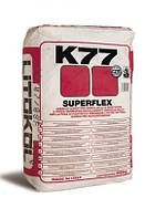 SUPERFLEX K77 - высокоэластичный цементный клей серый