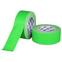 FLUO GAFFER PRO - зеленый, 50мм х 25м - флуоресцентный матовый тейп HPX