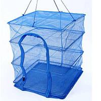 Сетка для сушки рыбы 7500, 3 яруса, 50х50х65 см