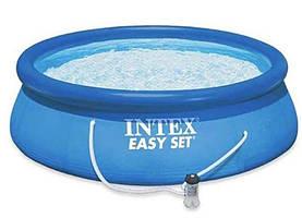 Бассейн надувной Intex 28132, 366х76 см, с фильтр-насосом