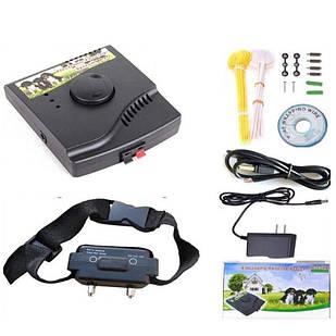 Электропастух с 1-м аккумуляторным ошейником Pet W-227 Черный (100582)