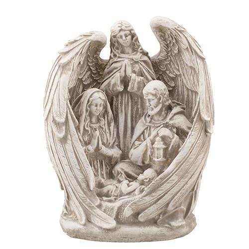 Статуетка Decoline Свята родина з ангелом пісочна, (гіпс) R0220-7(G)