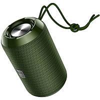 Портативная Bluetooth колонка HOCO HC1, темно-зеленая