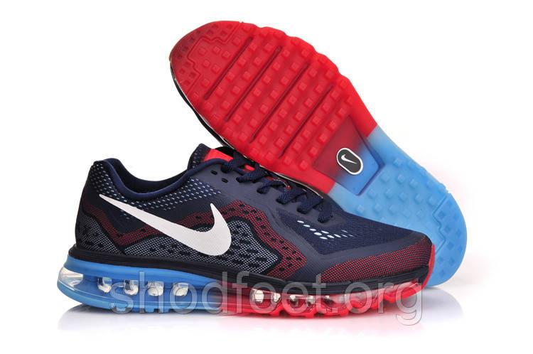 Мужские кроссовки Nike Air Max 2014 Blue/Red