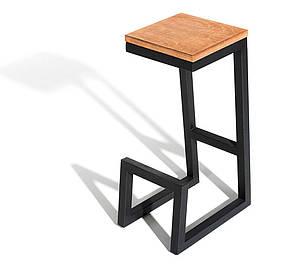 Барный стул GoodsMetal в стиле LOFT 750х350х350 БС303