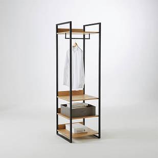 Вішалка стійка для одягу GoodsMetall в стилі Лофт 1950х600х550 ВШ142