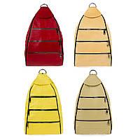 Женский кожаный рюкзак-сумка LT 5617 цвета в ассортименте