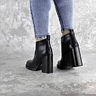 Ботильоны женские Fashion Tito 2458 40 размер 25,5 см Черный, фото 7