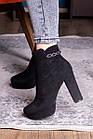Ботильоны женские Fashion Toffi 2164 38 размер 24 см Черный, фото 3