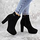 Ботильоны женские Fashion Toffi 2164 38 размер 24 см Черный, фото 8