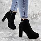 Ботильоны женские Fashion Toffi 2164 38 размер 24 см Черный, фото 9