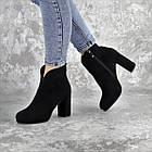 Ботильйони жіночі Fashion Tussler 2417 37 розмір 24 см Чорний, фото 3