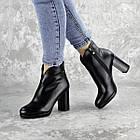 Ботильоны женские Fashion Zuess 2426 35 размер 23 см Черный, фото 4