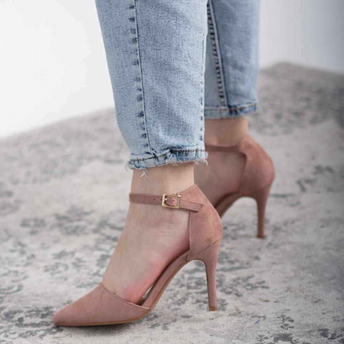 Туфлі жіночі Fashion Ulian 2633 36 розмір, 23,5 см Рожевий 38