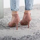 Туфлі жіночі Fashion Ulian 2633 36 розмір, 23,5 см Рожевий 38, фото 3