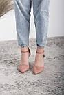 Туфлі жіночі Fashion Ulian 2633 36 розмір, 23,5 см Рожевий 38, фото 4