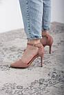 Туфлі жіночі Fashion Ulian 2633 36 розмір, 23,5 см Рожевий 38, фото 5