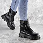 Черевики жіночі Fashion Sondra 2401 37 розмір 23,5 см Чорний, фото 9