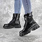 Черевики жіночі Fashion Sondra 2401 37 розмір 23,5 см Чорний, фото 10