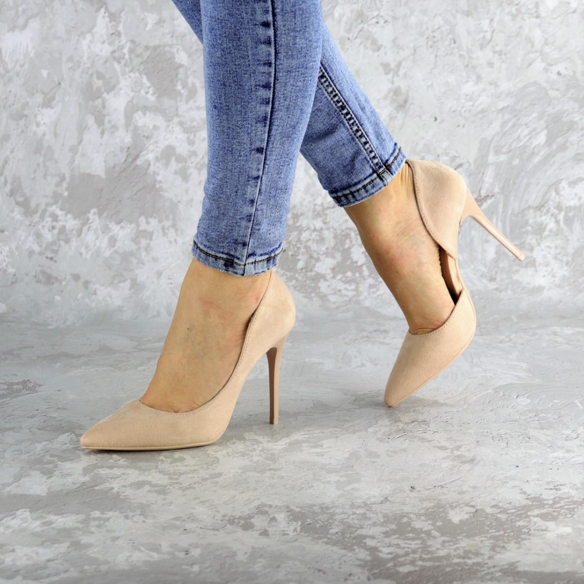 Туфли женские Fashion Vassel 2452 36 размер 23 см Бежевый
