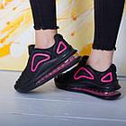 Кроссовки женские Fashion Babirusa 2585 36 размер 23,5 см Черный, фото 4