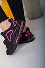 Кроссовки женские Fashion Babirusa 2585 36 размер 23,5 см Черный, фото 5