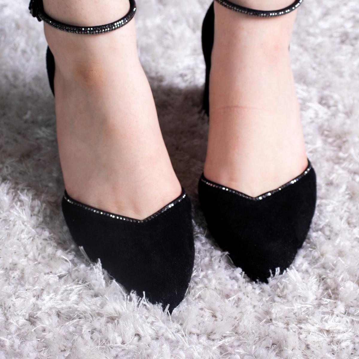 Туфли женские Fashion Wabba 2678 37 размер 24 см Черный