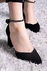 Туфли женские Fashion Wabba 2678 37 размер 24 см Черный, фото 5