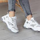 Кросівки жіночі Fashion Caleb 2548 37 розмір 23 см Білий, фото 3