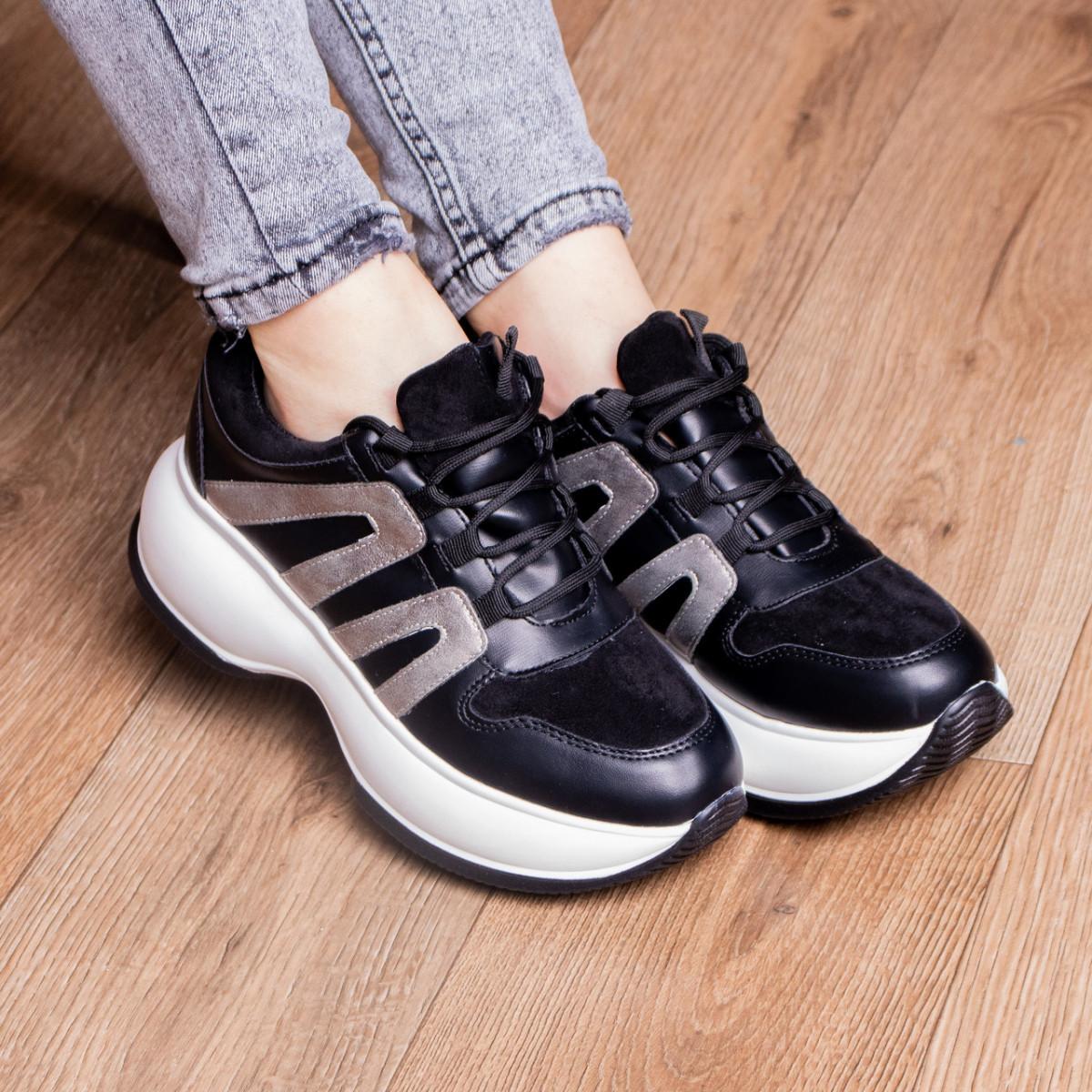 Кросівки жіночі Fashion Cassie 2189 36 розмір 23 см Чорний