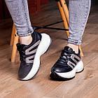 Кросівки жіночі Fashion Cassie 2189 36 розмір 23 см Чорний, фото 2
