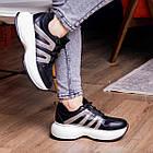 Кросівки жіночі Fashion Cassie 2189 36 розмір 23 см Чорний, фото 3