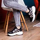 Кросівки жіночі Fashion Cassie 2189 36 розмір 23 см Чорний, фото 4