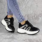 Кросівки жіночі Fashion Cassie 2189 36 розмір 23 см Чорний, фото 10