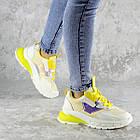 Кроссовки женские Fashion Coojo 2237 36 размер 23 см Белый, фото 7
