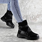Черевики жіночі зимові Fashion Lana 2317 36 розмір, 23,5 см Чорний, фото 2