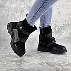 Черевики жіночі зимові Fashion Lana 2317 36 розмір, 23,5 см Чорний, фото 3