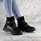 Черевики жіночі зимові Fashion Lana 2317 36 розмір, 23,5 см Чорний, фото 4