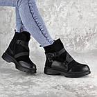 Черевики жіночі зимові Fashion Lana 2317 36 розмір, 23,5 см Чорний, фото 5