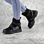 Черевики жіночі зимові Fashion Lana 2317 36 розмір, 23,5 см Чорний, фото 6