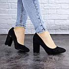 Туфлі жіночі на підборах Fashion Beans 2114 38 розмір 24,5 см Чорний, фото 2