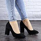 Туфлі жіночі на підборах Fashion Beans 2114 38 розмір 24,5 см Чорний, фото 5