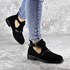 Черевички жіночі Fashion Jean 1261 36 розмір, 23,5 см Чорний, фото 2