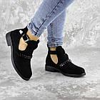 Черевички жіночі Fashion Jean 1261 36 розмір, 23,5 см Чорний, фото 3