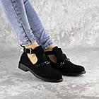 Черевички жіночі Fashion Jean 1261 36 розмір, 23,5 см Чорний, фото 4